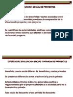 Diapositivas Evaluación social de proyectos
