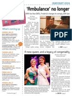 Frederick F.Y.I.  newsletter - January 2014