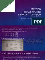 Método desacoplado Newton -rAHPSON