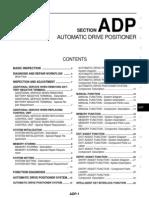 2008 Nissan Teana J32 Service Manual-ADP