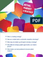 Lesson 5 - Retail Market Strategy