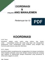Koordinasi+Dan+Rentang+Manajemen