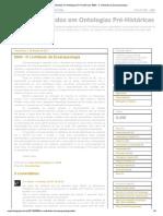 Círculo de Estudos em Ontologias Pré-Históricas_ 0004 - O contributo da Zooarqueologia