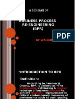 Business Process Re-Engineering (Bpr)
