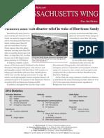 Massachusetts Wing - Annual Report (2012)