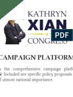 Full Platform - Elect Kathryn Xian