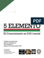 Analisis Conversatorio El 5 Elemento