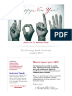 the shocking truth newsletter- january 2014
