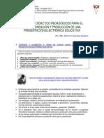 Criterios Pedagogicos Para Una PEE