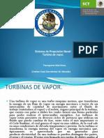 Grupo a Hernandez W Turbina de Vapor TRANSPORTE