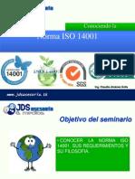 Seminario Tacna ISO14001