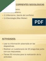 (142388956) Corrientes Sociologicas
