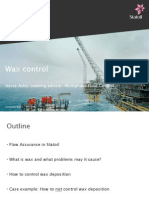 Wax Control