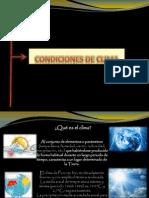 CONDICIONES CLIMATICAS PARA DISEÑO DE CENTRO COMERCIAL EN PUNO