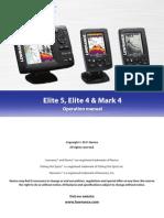 ELITE5, ELITE4 Operation Manual