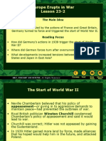 23-2 Europe Erupts in War