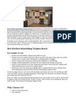 Best Kitchen Remodeling Virginia Beach