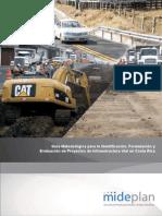 Guía Metodológica para la Identificación, Formulación y Evaluacion de Proyectos de Infraestructura