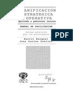 Planificación estratégica y operativa
