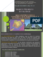 Eco Arq. - Urbanismo