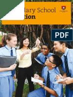 Secondary School Education Booklet