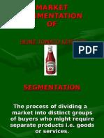 Market Segmentation Heinz ketchup