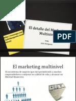 El Detalle Del Marketing Multinivel