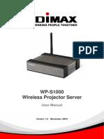 WP S1000 UserManual 1127