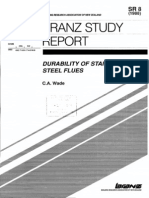 Durability of Stainless Steel Flues