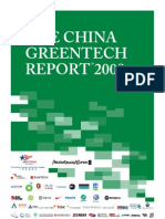 The China Greentech Report 2009