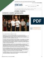 14-01-2013 'Impulsa municipio empleo, turismo, comercio y sector agropecuario'.