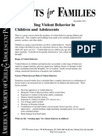 55 Understanding Violent Behavior in Children and Adolscents