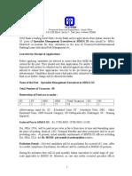 Recruitment 11 Oct 10
