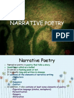 Genre Narrative Poetry