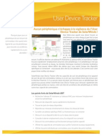 SolarWinds UserDeviceTracker Datasheet FR