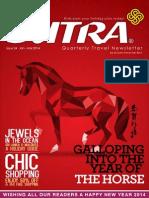 SUTRA TRAVEL NEWSLETTER Q1 2014