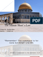 The Islamic Shari' a Law