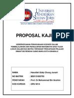 contoh Proposal kajian pendidikan