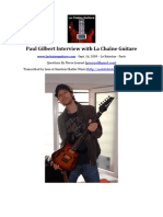 LCG-022-20090921 Paul Gilbert Interview