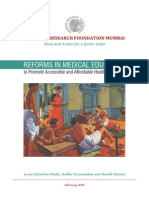 ORF Report Medical Education Feb2012