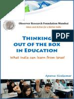 ThinkingOutOftheBoxInEducation Aparna