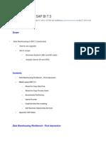 BI 7.3 Features