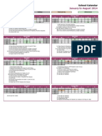 bis simprug calendar 2013 - 2014 semester 2