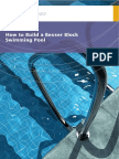 How to Build a Besser Block Swimming Pool