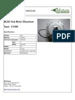 Cy250 Hub Motor Kit