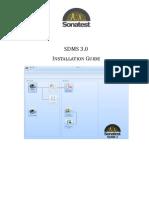 SDMSLite Install Guide