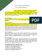 E M2 - Services Marketing