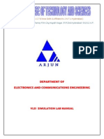 E-cad & Vlsi Lab Manual