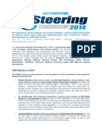 Automotive Steering Technology 2014_Top Stories.