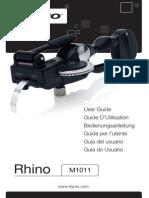 Rhino m1011 Embosser Kit User Guide